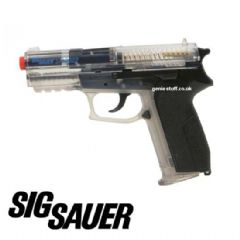Official Sig Sauer SP2022 Clear BB Airsoft Gun